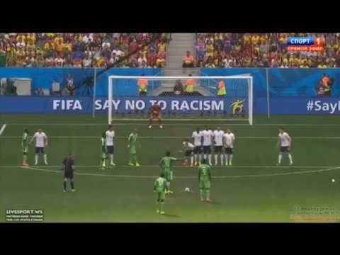 France vs Nigeria 2 0 Paul Pogba Amazing Goal   World Cup 2014   30 6 2014 review000025 264 000050 6