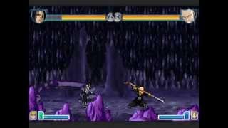 Bleach Vs Naruto 2.3 Sasuke (Susanoo) Vs Ikkaku (Challenge) ft. Alan Walker
