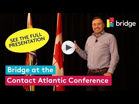 The Human Element - Turning Brand Words into Living Actions - at the Contact Atlantic Conference