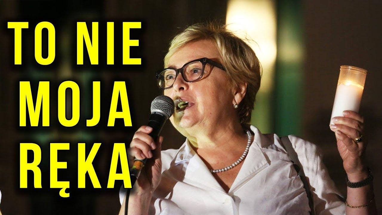 Małgorzata Gersdorf i ŚWIECZKA PRAWDY – Złapana na Kłamstwie IDZIE W ZAPARTE