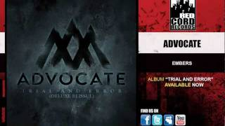 Watch Advocate Embers video