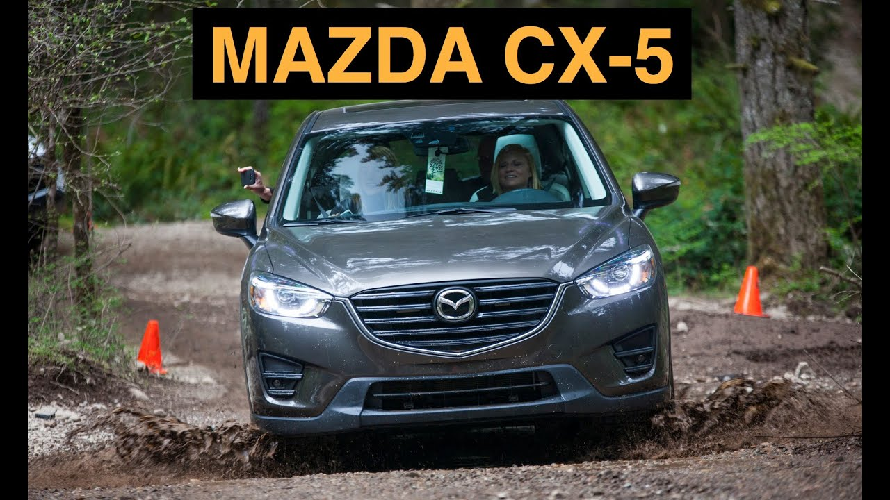 2016 Mazda CX-5 - Off Road And Track Review - YouTube