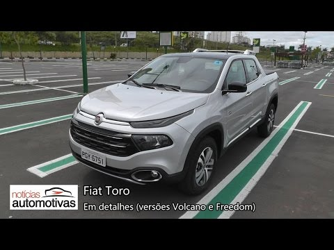 VÍDEO: Fiat Toro em Detalhes