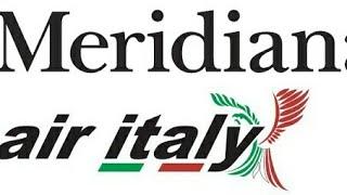MERIDIANA DIVENTA AIR ITALY.