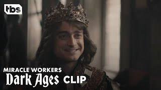 Miracle Workers: Dark Ages | Prince Chauncley Meets Princess Vicky | TBS