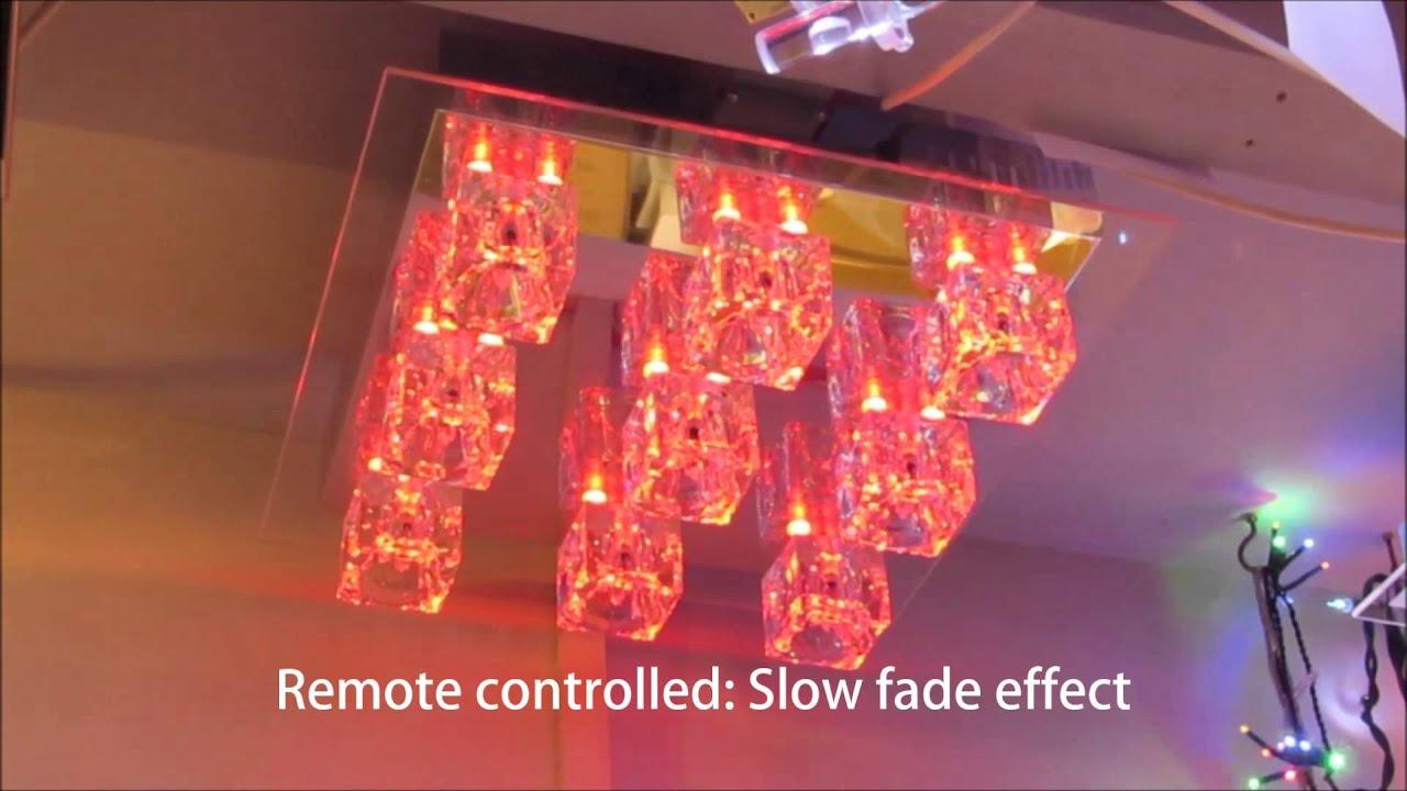Moderne Lampen 9 : 9 light led flush ceiling fitting by leuchten direkt 50286 17