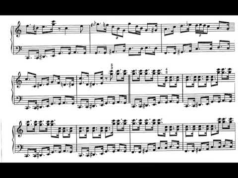 Claude Bolling - Death Ray Boogie for Piano [Score-Video]