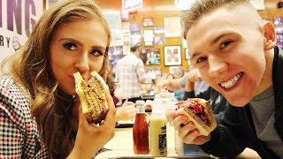 NEW YORK CITY TRAVEL VLOG | TRYING AMERICAN FAST FOOD!