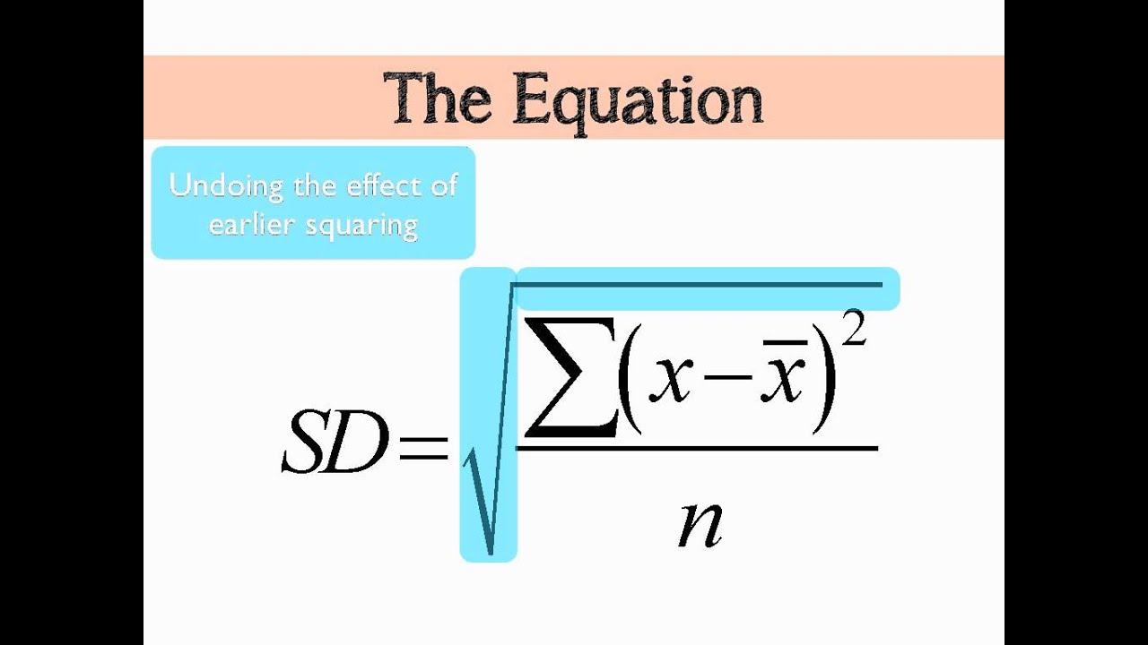 5 tips for understanding standard deviation - Standard Deviation