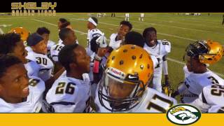 Shelby Golden Lions vs Crest Chargers 2016