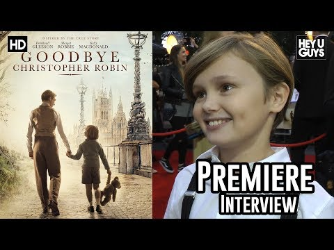 Will Tilston | Goodbye Christopher Robin Premiere Interview