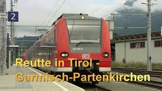 Reutte/Tirol -Garmisch Partenkirchen im Führerstand