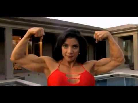 muscle building beautiful female bodybuilder marina lopez