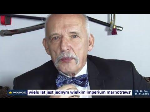 ✪ NA ŻYWO ✪ Polska-Iran + pytania - Janusz Korwin-Mikke 21.01.2019