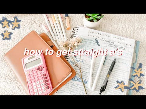 the truth on how to get straight a's from a 4.0 student 2019 || how to be a successful student