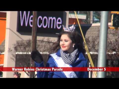 The 2015 Warner Robins Christmas Parade - December 5, 2015