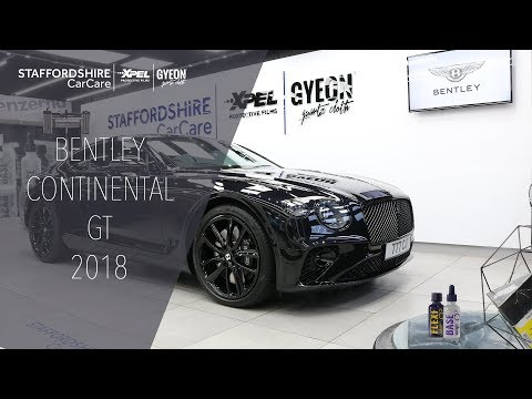 Bentley Continental GT First Edition | Staffordshire Car Care Detailing | Xpel | Gyeon Quartz