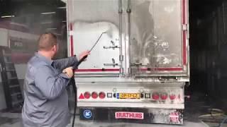 DAF XF Real f*ck*ng dirt! 100% NON Contact Truck Wash