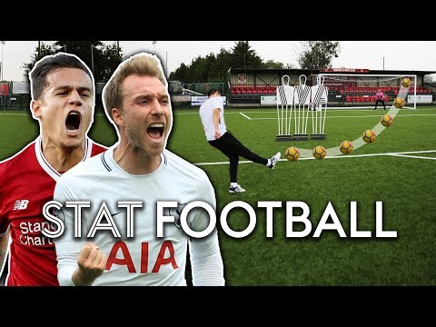 Who Is Better, Eriksen Or Coutinho? | Free-Kick Challenge! | Stat Football ⚽