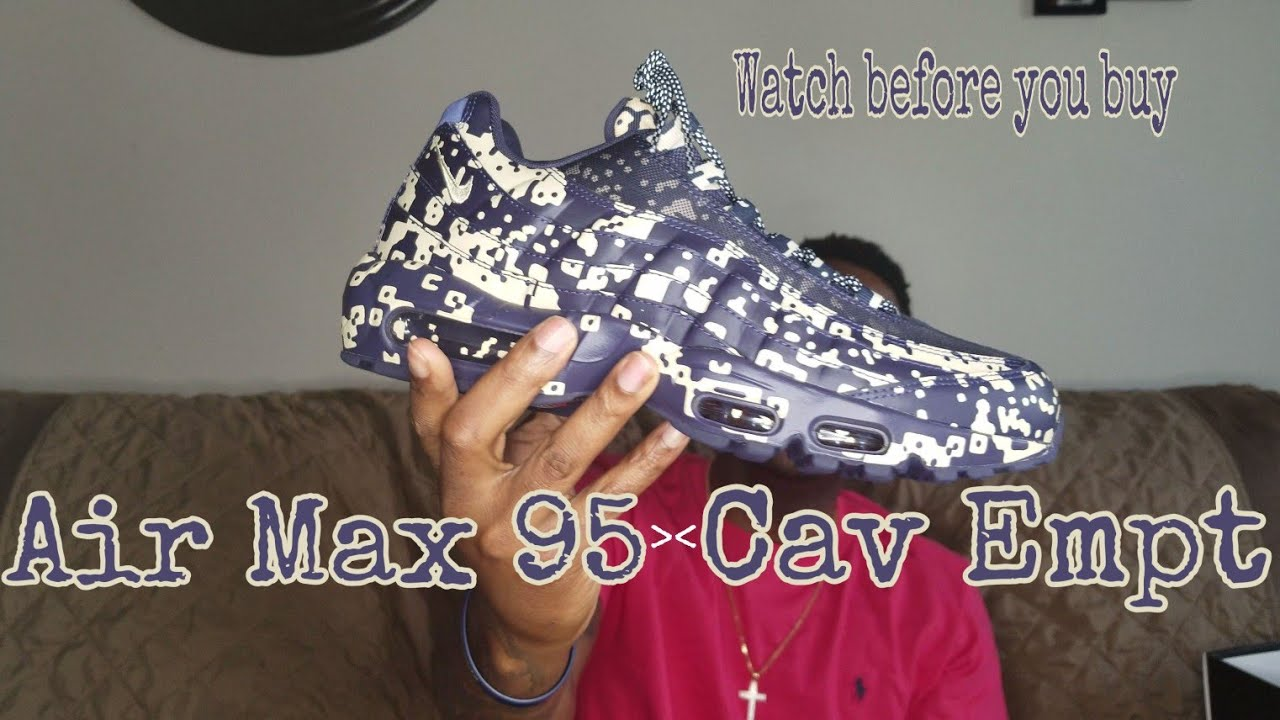 e5f8a3d674bda7 Nike Air Max 95 x Cav Empt IN HAND REVIEW! Watch Before you Buy  RoadTo2500   AirMax
