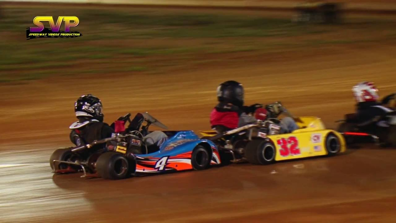 Go Cart Racing | Flat Head 340 | Sept 9 , 2016 - YouTube
