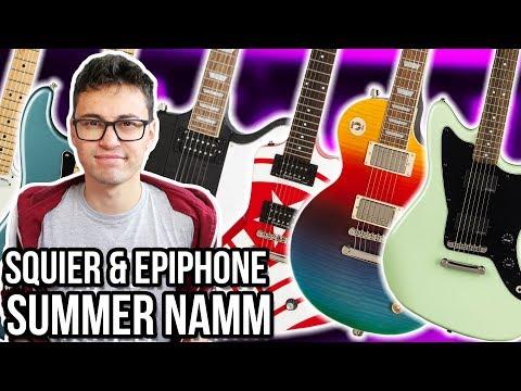 Fender Player Series, Squier Active Jazzmaster, Jason Hook & Slash Epiphone Signatures?!|| ASKgufish