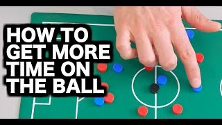 Soccer Tips | How to create space and get on the ball more often
