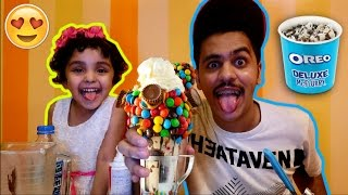 We Made the Best and Largest Milkshake in the WORLD!!