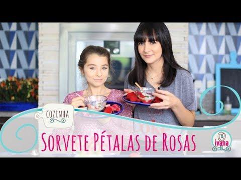 #IVANACOZINHA| Sorvete de Pétalas de Rosas com Dani Noce