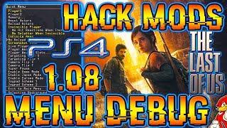 PS4 Hack The Last Of Us Menu Debug Campaña PS4 5.05 - By ReCoB