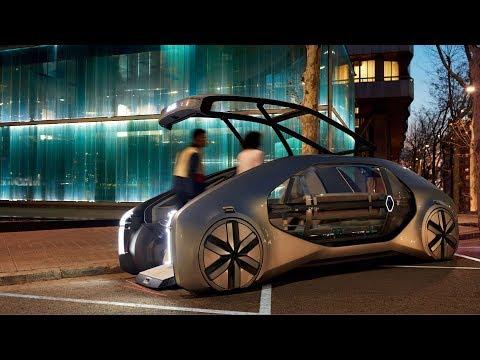 0 - Renault präsentiert mit Ez-Go seine Vision von zukünftigem Transport