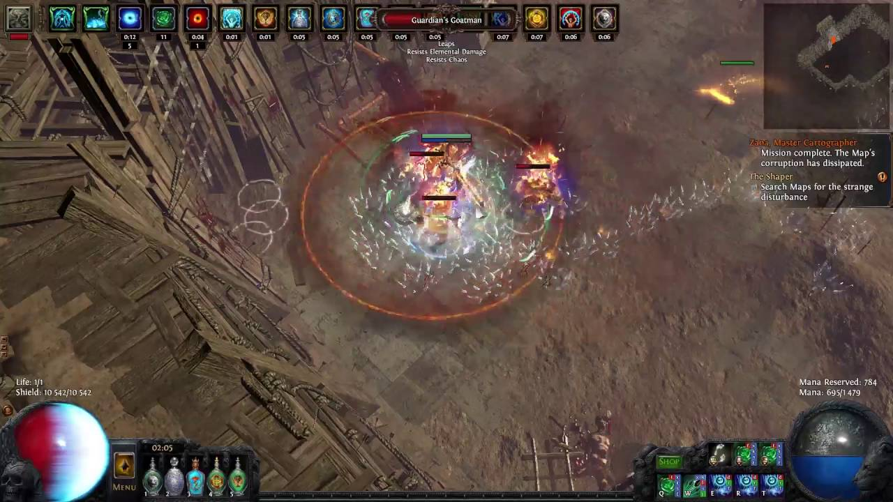 Chrimera guardian boss fight first look path of exile atlas chrimera guardian boss fight first look path of exile atlas of worlds 24 patch youtube gumiabroncs Images