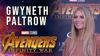 Gwyneth Paltrow Live at the Avengers: Infinity War Premiere