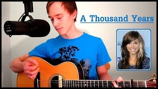 A Thousand Years - Christina Perri | Acoustic Cover