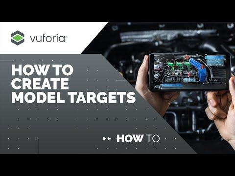 Vuforia Engine: How to Create Model Targets
