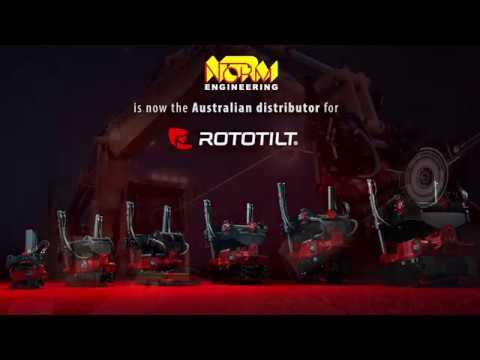 Rototilt® Tiltrotators - NORM Engineering
