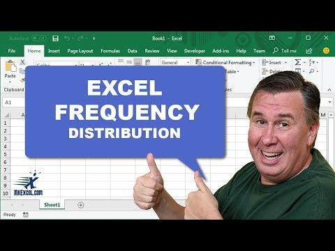 Excel In Depth - Frequency Distribution: #1258