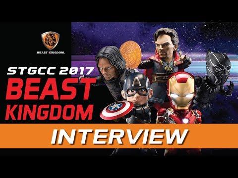 Beast Kingdom @ STGCC 2017!