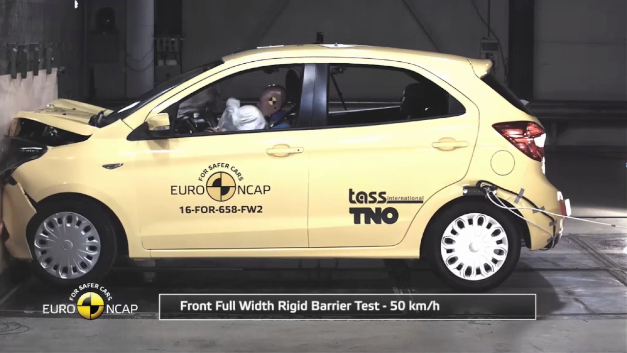 la ford ka plus obtient trois toiles aux crash tests euro. Black Bedroom Furniture Sets. Home Design Ideas