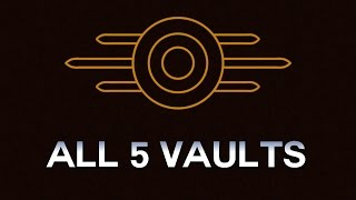 Fallout 4 - All 5 Vaults and their Dark Lore