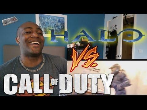 Halo VS Call of Duty - REACTION! - YouTube
