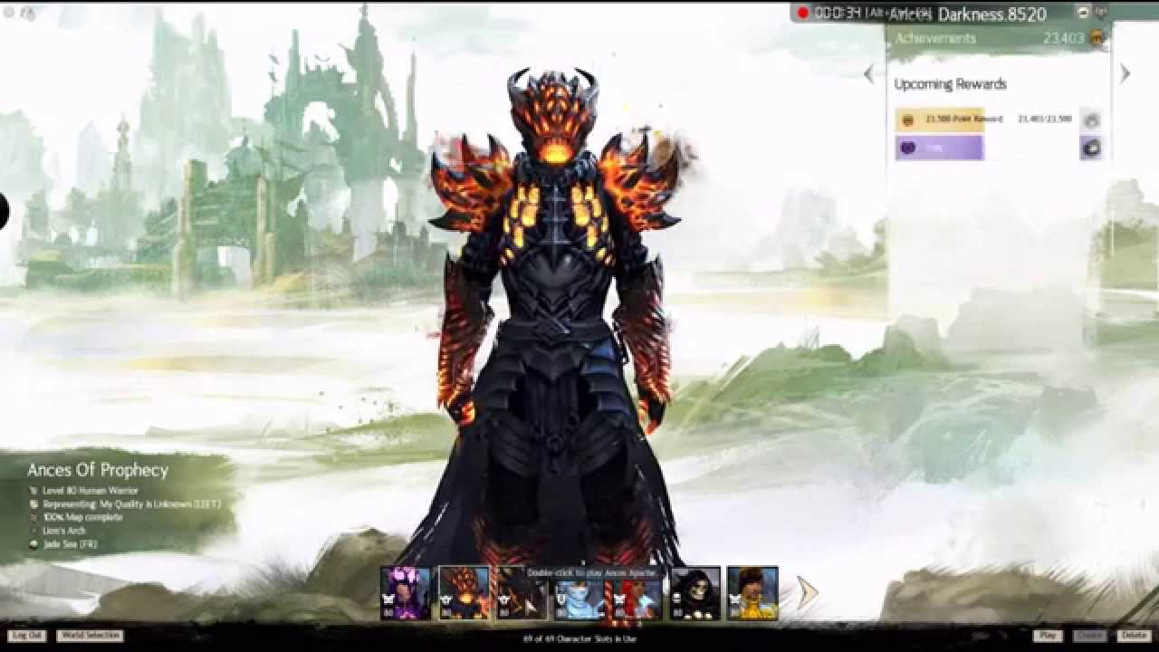 Guild Wars 2 Anime Characters : Gw characters youtube