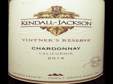 Kendall-Jackson 2014 Vintner's Reserve Chardonnay (The Wine Review - Ep. 98)