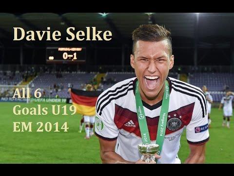 Davie Selke | All 6 Goals U19 EM | Top Scorer | Werder Bremen New Superstriker | 2014 [HD]