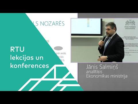 «Kā Latvijas jauniešu studiju izvēle ietekmē tautsaimniecības attīstību ilgtermiņā?» Jānis Salmiņš