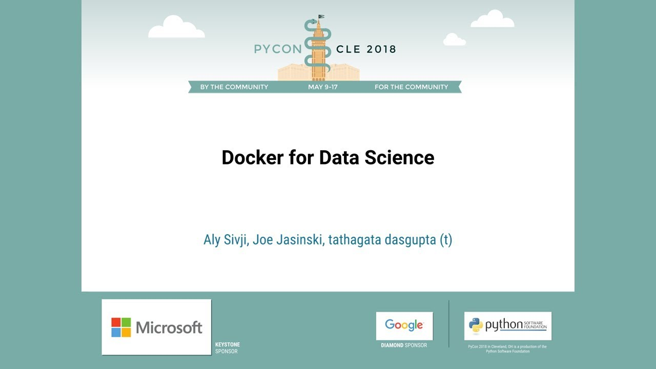 Image from Docker for Data Science
