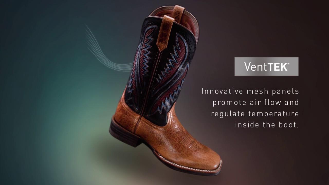 Ariat Heritage Roughstock VentTEK Cowboy Boots