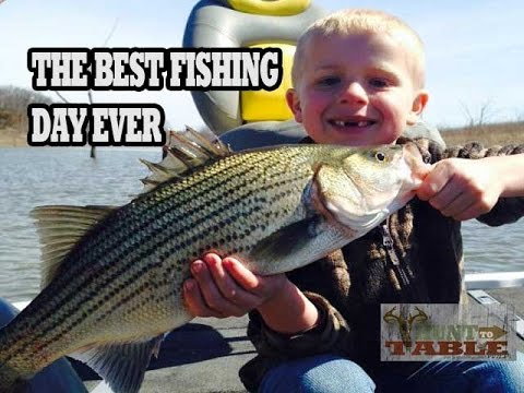 The Best Fishing Day EVER - By An 8 Year Old