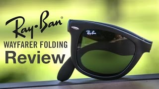 Ray-Ban Folding Wayfarer Review(Ray-Ban RB 4105 Folding Wayfarer On Face Review ▻Buy http://amzn.to/29gwcMY Subscribe Here: ..., 2016-07-06T20:00:03.000Z)