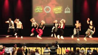 DMU | 14º Lugar Divisão x @ Hip Hop International Portugal 2015 | Finais